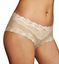 Maidenform 40823 Cheeky Microfiber Hipster Panty With Lace