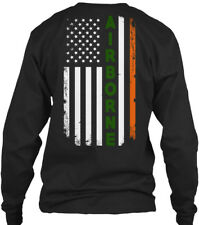 Irish Airborne St. Patricks Day Tribute - Gildan Long Sleeve Tee T-Shirt