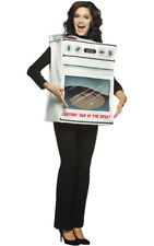 LICENSED ADULT WOMENS FUN BUN IN THE OVEN FANCY DRESS HALLOWEEN COSTUME