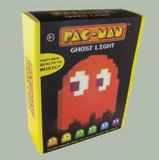 Pac Man Ghost Light USB Powered Multi colored Lamp Paladone Nightlight Party fa