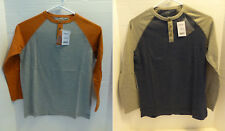 Henley Shirt Boys Medium 8 XLarge XL 14 NEW Long Sleeve