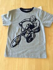 NWT Gymboree Boys T Shirt Cyclist SZ 5