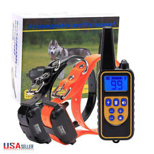 1000M Pet Dog LCD Training Collars Eectric Shock Collar Remote Control 2 Dogs