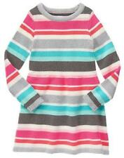 NWT Gymboree Enchanted Winter striped Sweater Dress 4,6,7 Girl