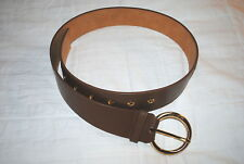 MICHAEL KORS WOMENS DESIGNER BELT GENUINE LEATHER BROWN 2 SIZES RP $68.00 NWT