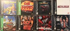 Playstation 1 PS1 Complete Games Lot (Pick one or more) in Good Condition!