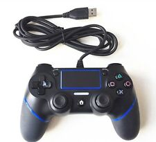Playstation 4 Controller Game PS4 USB Wired 4 Joystick Gamepads Dualshock