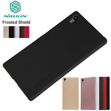 Real Nillkin Matte Shield Hard Shell Case Cover+Screen Protector For Sony Xperia