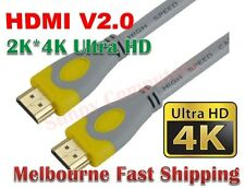 Ultra HD 4K*2K Premium HDMI V2.0 Cable Gold Plated High Speed Ethernet HEC ARC