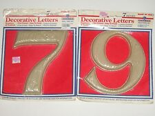 """House / Apartment Numbers - 7"""" Size - You Choose"""