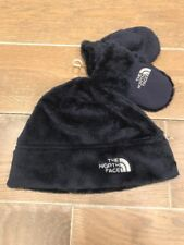 North Face BABY Fleece beanie & Mittens Navy blue XS 6-24 Mo