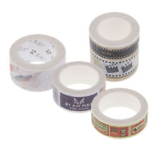 Self Adhesive Washi Masking Tape Sticky Paper Tape for DIY Diary Craft Decor