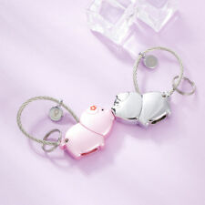 Sweet Magnetic Kissing Pig Cute Key Chain Couple Keychain Key Ring Gifts Present