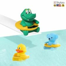 Baby Temperature Water Thermometer Infant Duck Bath Bear Dinosaur Kid Toy Tub Te
