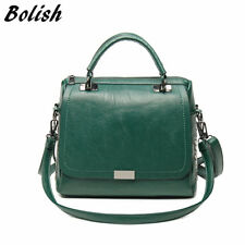 Bolish Casual Women Soft  Handbag Female Shoulder Bag Messenger Bag
