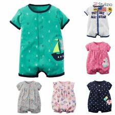 Baby Rompers Summer Girl Clothes Boys Clothing Sets Short Sleeve Newborn Roupas