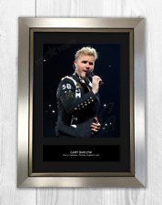 Gary Barlow Take That Signed Photo Print Mounted Quality A4 Reproduction Framed