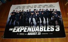 The Expendables 3 5FT subway movie POSTER Sylvester Stallone Ronda Rousey 2014