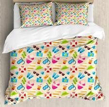 Flip Flop Duvet Cover Set Twin Queen King Sizes with Pillow Shams Bedding