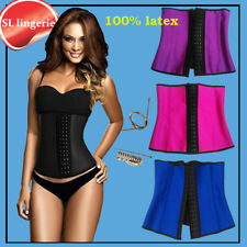 Waist Trainer Corsets and bustiers latex cincher girdles Shapewear slimming