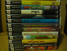 Playstation 2 PS2 GAMES LOT **Pick and Choose** ALL GAMES COMPLETE WITH MANUAL
