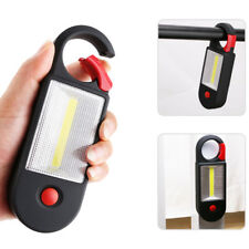 Portable COB LED Working Lamp Camping 2-Mode Flashlight Magnetic Torch with Hook