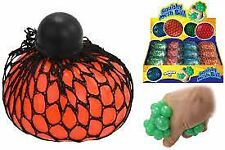Squishy Mesh Balls Squeeze Sensory Slime Kids Stress Relief Party Bag Filler Toy