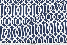 Imperial Trellis Lattice Linen Fabric Printed by Spoonflower BTY
