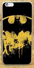 Batman Superhero Splatter Hard Case Cover Coque Shell Skin For All Phone Models