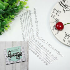 Metal cutting dies Stencils for DIY Scrapbooking/photo Create the perfect edge