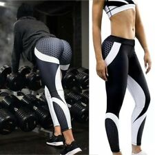 Womens Yoga Fitness Pants Leggings Running Gym Stretch Sports Slim Fit Trousers