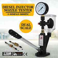 Diesel Injector Nozzles Tester Device Test Tool 0-600Bar Aluminum Injection Pump