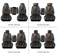 Ford f150 1999-2014 car seat covers  camo gray tree, select  seat style