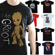Guardians Of The Galaxy T-Shirt Mens Official Marvel Merchandise