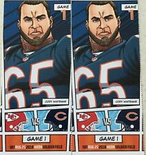 free ship 2 CHICAGO BEARS TICKETS KANSAS CITY CHIEFS NFL FOOTBALL SOLDIER FIELD