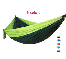 Outdoor Camping Hammock Parachute Hanging Sleeping Bed Swing for 2 Person