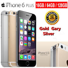 "Apple iPhone 6 Plus Factory Unlocked 16GB/64GB/128GB 4G LTE 5.5"" SmartPhone US+"