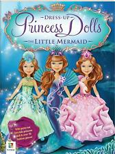 The Little Mermaid Fairytale Dress-Up Doll (despec) Paperback Book Free Shipping