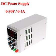 30V 5A Digital Regulated DC Power Supply Adjustable Output Voltage Current E8Z4