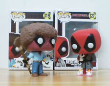 New Marvel's Bedtime Deadpool / Cosplay as Bob Ross Funko POP PVC Action Figure