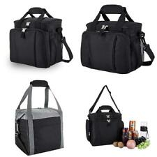 Insulated Cooler Bag With Can Holder For Outdoor Camping Picnic Beach Travel New