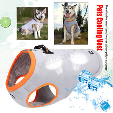 Pet Dog Puppy Cooling Vest Jacket Coat T-shirt Clothes Summer Sunstroke Prevent
