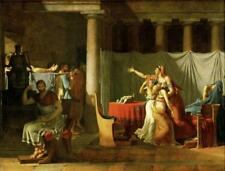 Wonderful Neoclassic French Masterpiece by David - The Sons of Brutus