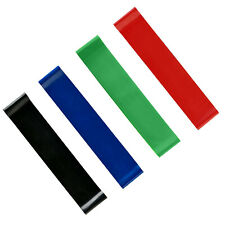 Set of 4 Resistance Loop Bands Yoga Crossfit Fitness Pilates Exercise Workout US