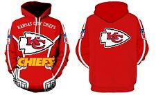 Kansas City Chiefs NFL Football Hoodie Sweater Pullover Fan's Edition