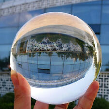K9  Glass Clear Crystal Ball Photography Lens Photo Prop Background Sphere