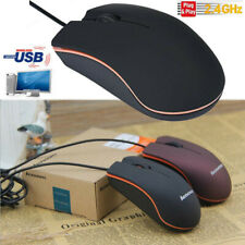 Mini 1200DPI Ergonomic Wired USB Optical Gaming Mice Mouse For PC Laptop Mac
