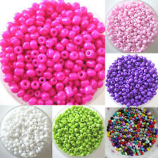 1200Pcs 2mm Round Czech Glass Seed Spacer Loose Beads Jewelry DIY Making Proper