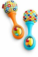 Toddler Toys Rattle Sounds Maracas,the right size for little hands,Soft Pom,Bead