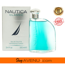 NAUTICA Classic EDT Spray Cologne for Men *BRAND NEW Sealed Box* 3.4oz / 100ml